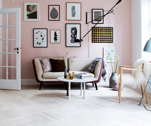 pink, home, and interior image