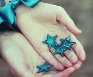 stars, blue, and hands image
