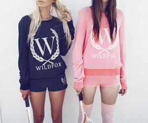 girl, wildfox, and tennis image