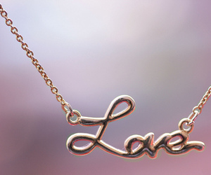love and necklace image