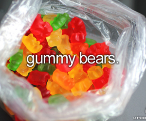 gummy bears, food, and candy image