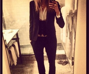fashion, suit, and YSL image