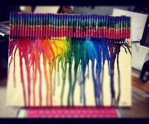 art, crayon, and colors image