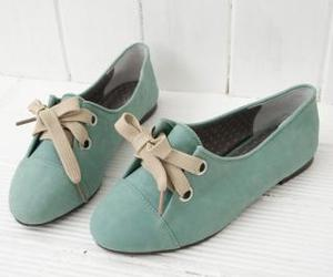 adorable and blue shoes image