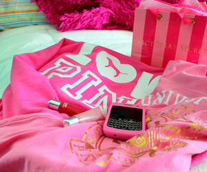 pink, Victoria's Secret, and blackberry image