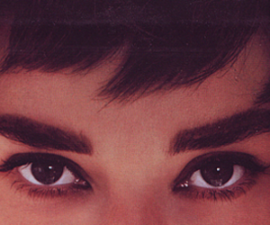 audrey hepburn and eyes image