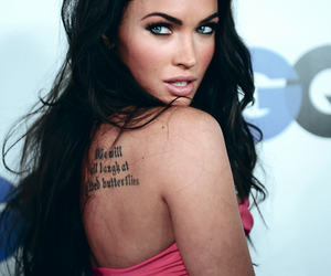 megan fox and tattoo image