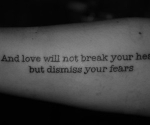 black and white, mumford & sons, and letters image