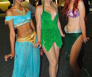 ariel, bell, and costume image