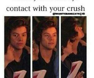 crush, Harry Styles, and one direction image
