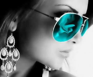 style, sunglasses, and beauty image
