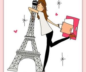 adorable, hug, and paris image