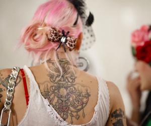 hair, cute, and Tattoos image