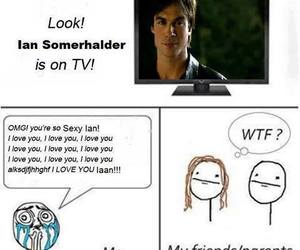 ian somerhalder, funny, and the vampire diaries image