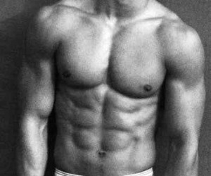 black and white, oh yes, and underwear image