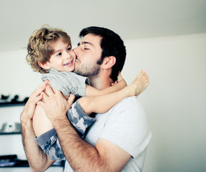 dad, kids, and boy image