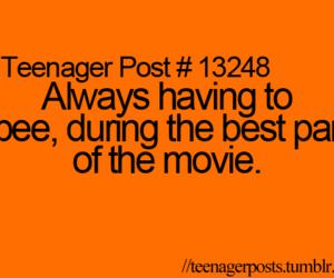 teenager posts image