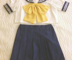 kawaii and seifuku image