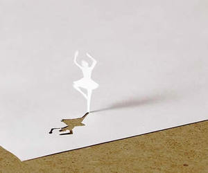 ballerina and Paper image