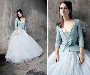 keira knightley, blue, and dress image