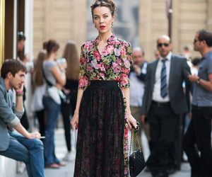fashion, style, and ulyana sergeenko image