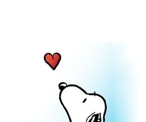 snoopy and heart image