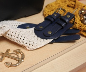 accessories, anchor, and beanie image