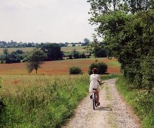 nature and bike image
