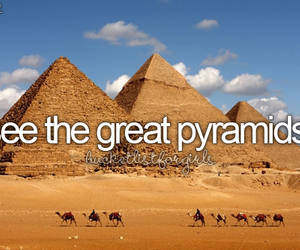bucket list, before i die, and egypt image