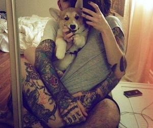 tattoo, dog, and love image