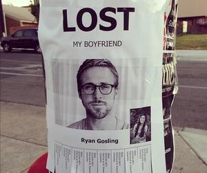 ryan gosling, boyfriend, and lost image