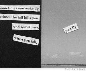 alone, boy, and fall image