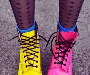 boots, shoes, and yellow image