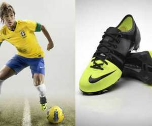 football, nike, and football shoes image