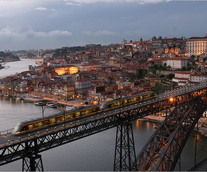 city, oporto, and portugal image