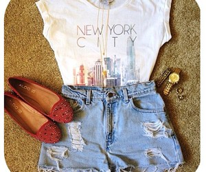 fashion, flats, and new york image