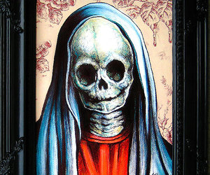 art, dark art, and day of the dead image
