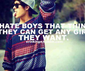 boy, quote, and hate image