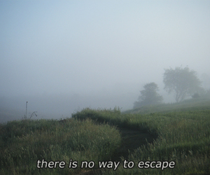 quote, escape, and grunge image