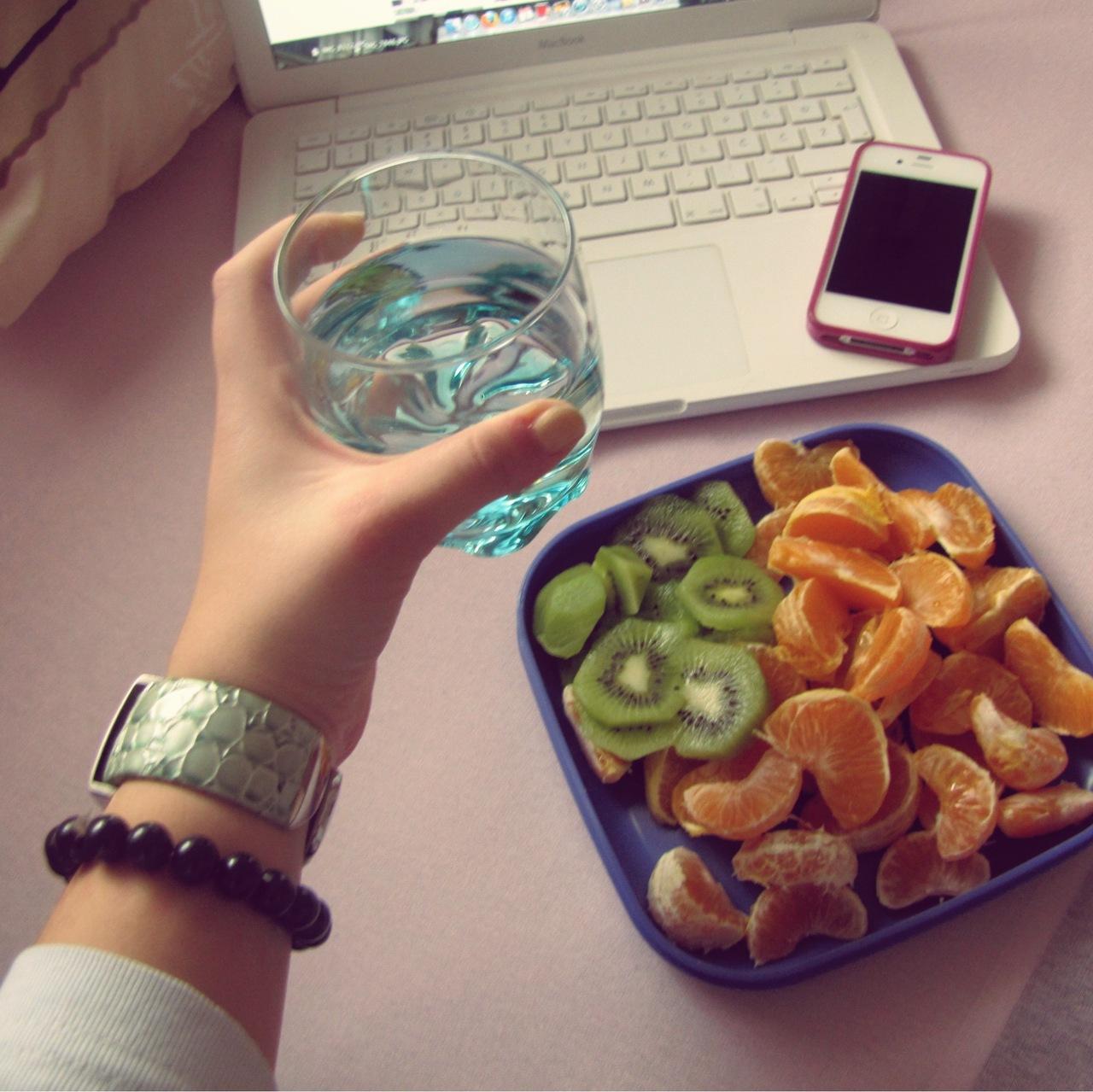 fruit, kiwi, and macbook image