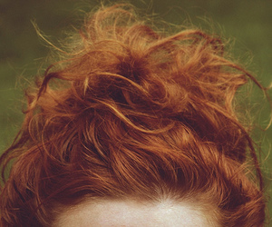 ginger, hair, and beautiful image