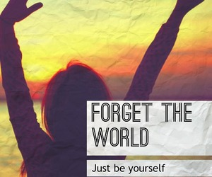 be yourself, freedom, and inspiration image