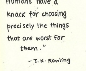 quote, jk rowling, and harry potter image