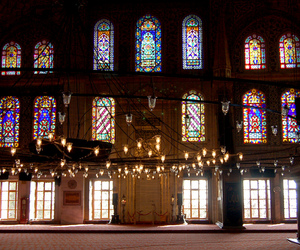 architecture, blue mosque, and byzantine image