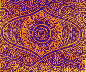 hippie and mandala image