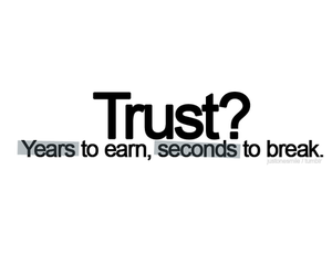 trust, quote, and text image
