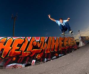 graffiti and skateboarding image