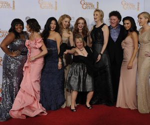 glee, golden globes, and keepbelieving image