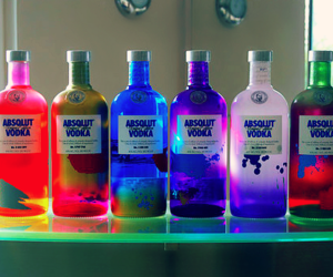 vodka, absolut, and absolut vodka image