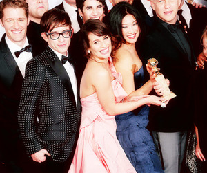 jenna, kevin mchale, and lea michele image